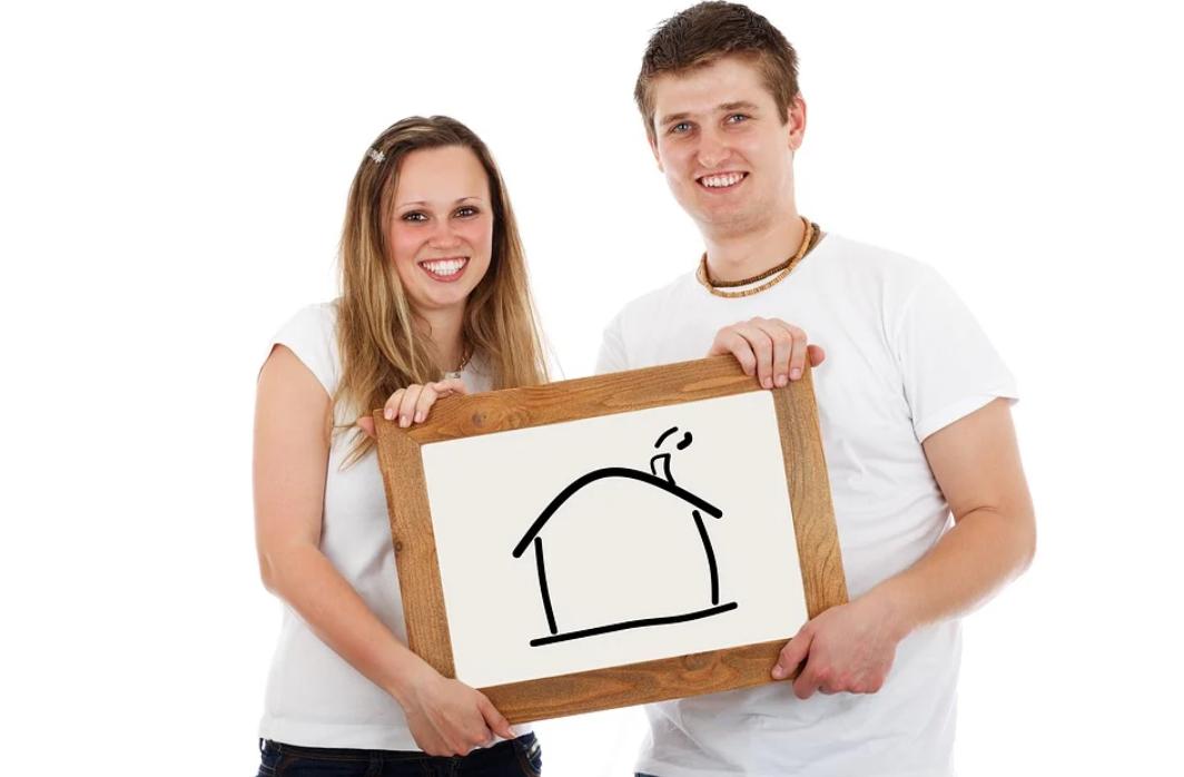 lidé a dům