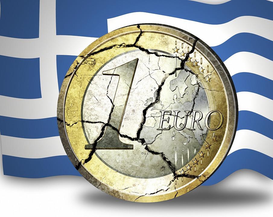 popraskané euro