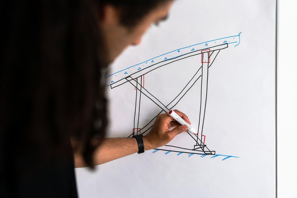stavební náčrt